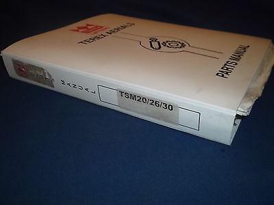 Terex Tsm20 Tsm26 Tsm30 Tsm32 Scissor Lift Service Parts Book Manual