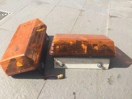 Twin Rotating Light Beacons