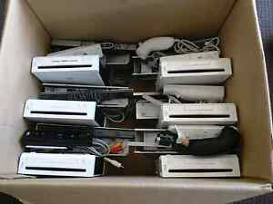 7 X Wii Systems. 5 complete and 2 just missing nunchucks Andrews Farm Playford Area Preview