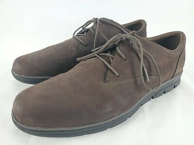Timberland Earthkeepers Men's 12 Broadstreet Oxfords Brown Leather Shoes 5423A