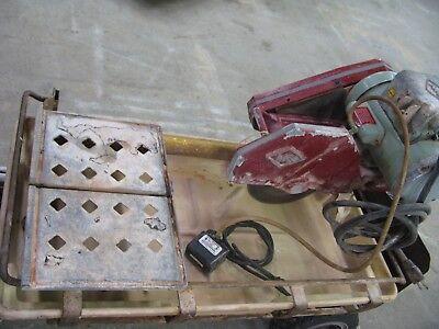 Mk-101 Diamond Blade Wet Saw 10 Tile Cutter Tiling Tools Cutting Brick Stone