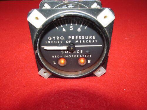 Airborne MFG gyro suction gauge 1 G 4-4