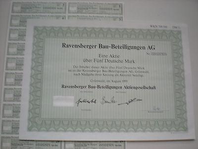 Deutschland - Ravenberger Bau-Beteiligungs-AG   1/225