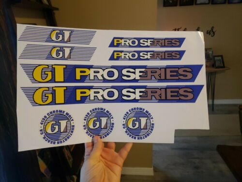 Gt pro series bmx decals