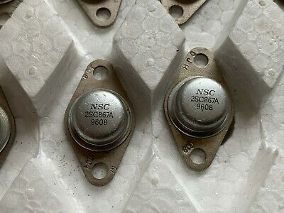 2sc867 A Transistor Silicon Npn Free Shipping Within The Us Lot Of 4