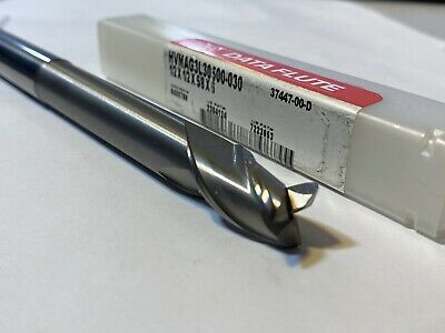 Data Flute Carbide Endmill 12 X 12 X .625 Loc X 6 Oal X 3fl X 0.03r