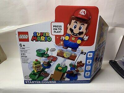 LEGO Super Mario Adventure with Mario Starter Course 71360 Building Kit Set New