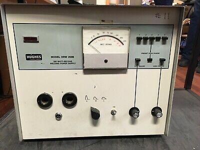 Hughes Hrw 250b 250 Watt-second Welding Power Supply -tested