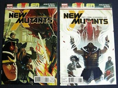 NEW MUTANTS Lot Of 2 42 43 EXILED Tie-in  - $5.99