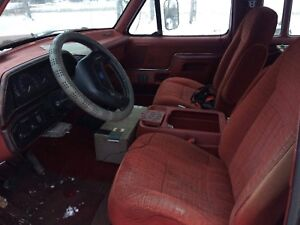 Old ford seats