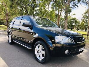 2004 Ford Territory Wagon 7Seats 4x4 TS Auto 10Months Rego Black