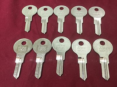 Fort Lock By Ilco M54g Key Blanks Set Of 10 - Locksmith