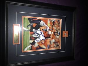 Personally signed Peyton Manning Picture