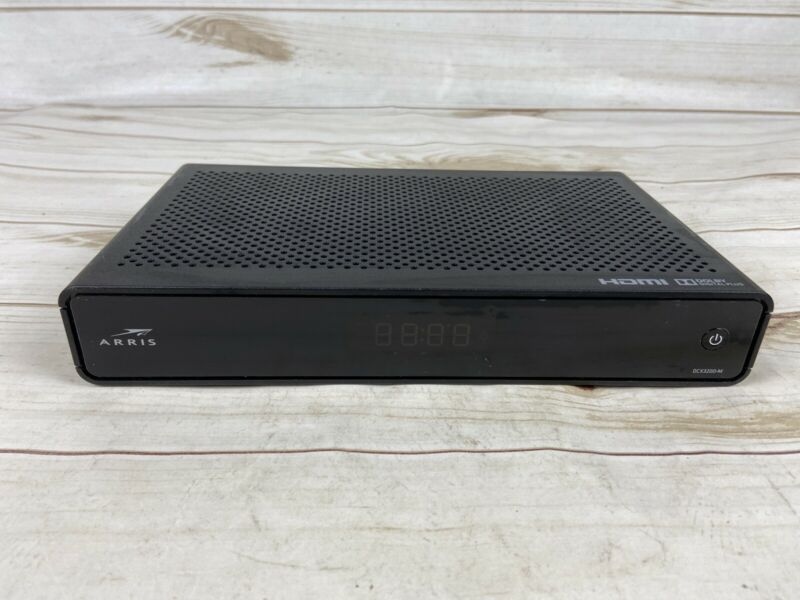 Dolby HDMI Digital Plus Arris DC3200-M Digitial TV Box