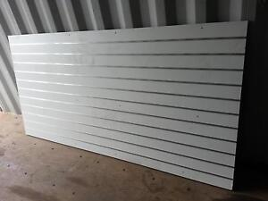 Ex large slat wall panel 2.4x1.2retail product display peg board Mudgeeraba Gold Coast South Preview
