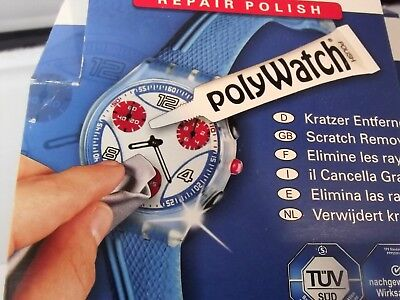 Polywatch togli graffi righe vetri plastica esalite orologi display cellulari