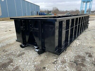 20 Yard Box Style Roll-off Container 36 Hook-lift Bar And Cable Lift