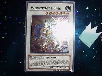 Yu-gi-oh! Karte: WERKZEUGDRACHE , rgbt-de043 ultimate rare deutsch Near Mint