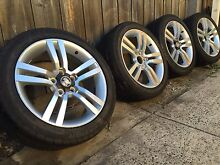 Genuine Holden commodore sv6 18 inch rims and tyres X4 Hadfield Moreland Area Preview