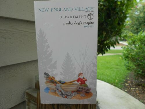DEPT 56  NEW ENGLAND VILLAGE Accessory A SALTY DOG