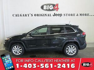 2016 Jeep Cherokee Limited, Bluetooth, Heated Seats, Remote Star