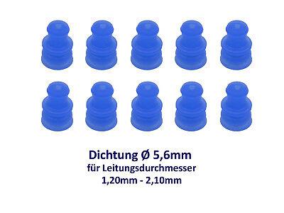 AMP Dichtung Seal 1,2mm-2,10mm zu Rundstecker DIN 72585 1,5 Elektrik Sensor JPT