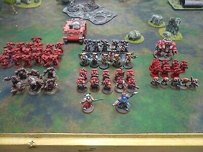 Warhammer 40k Blood Angles Space Marine Army Lot