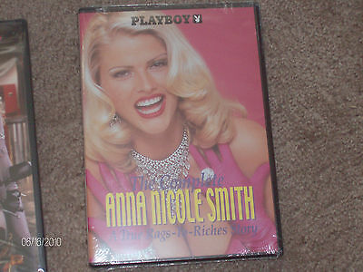The Complete Anna Nicole Smith  Rare Dvd  New Dvd  Rags To Riches  Beautiful
