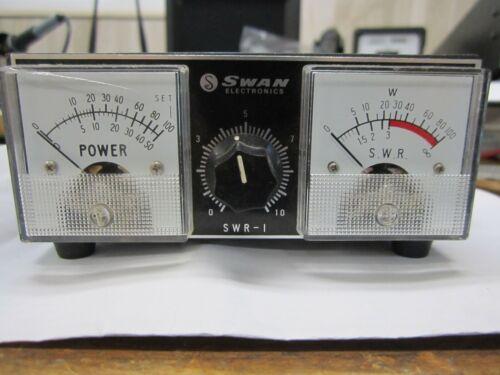 Swan SWR-1 1 KW HF Dual Power and SWR Meter  HF VHF