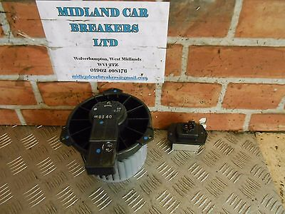 MITSUBISHI MIRAGE 3 2014 MK6 1.2 PETROL HEATER RESITOR & HEATER BLOWER MOTOR FAN