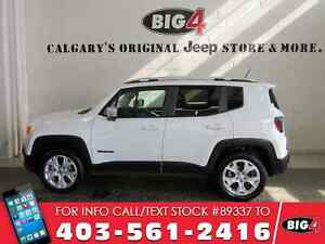 2017 Jeep Renegade Limited | Remote Start | Leather | Navigation