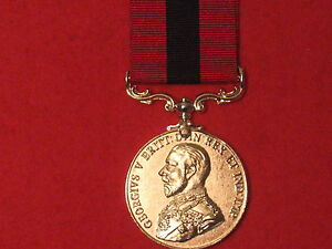 FULL SIZE DCM DISTINGUISHED CONDUCT MEDAL GV MUSEUM COPY MEDAL WITH RIBBON.