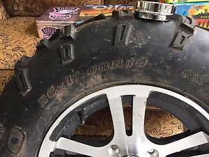 26 x 11.00 R 14 Spare Rim and Tire for 2013 Artic Cat