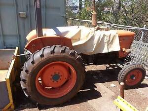 Fiat 500 40HP Diesel Tractor with Slasher, rotary hoe, hiller, + Oxley Brisbane South West Preview