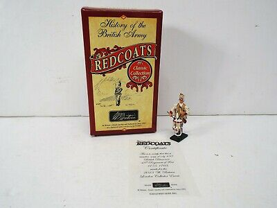 BRITAINS 49040 BRITISH DRUMMER 48TH REG OF FOOT EVENT FIGURE ONLY BS2706
