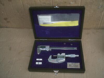 Mitutoyo Limited Edition 70th Anniversary Digital Caliper Micrometer Set