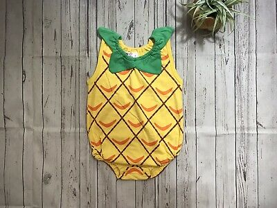 Pineapple Fruit Baby Infant One Piece Bodysuit/Romper Boy/Girl Costume NEW ](Pineapple Baby Costume)