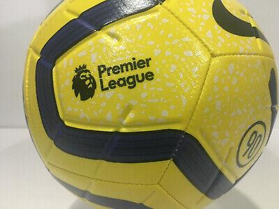 Nike Premier League Strike Soccer Ball Yellow/Black/Navy / SC3552 710 Premier League Soccer Ball