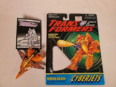 Transformers HOOLIGAN Cyberjets G2 Generation Two Complete Excellent USA 1994
