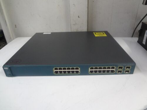 Cisco Catalyst 3560g Series Ws-c3560g-24ps-e Poe-24 Switch*