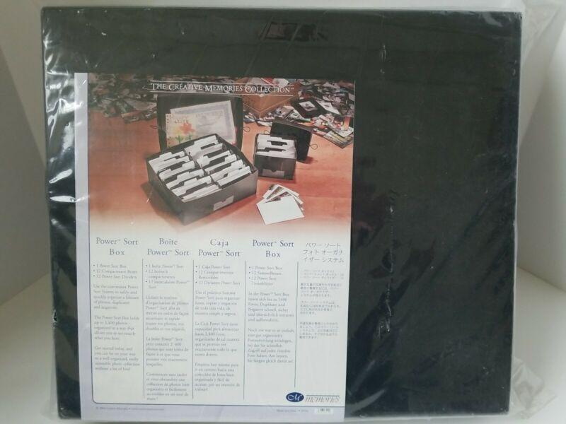 Creative Memories Power Sort Box Holds 2400 Photos NEW Sealed #623501