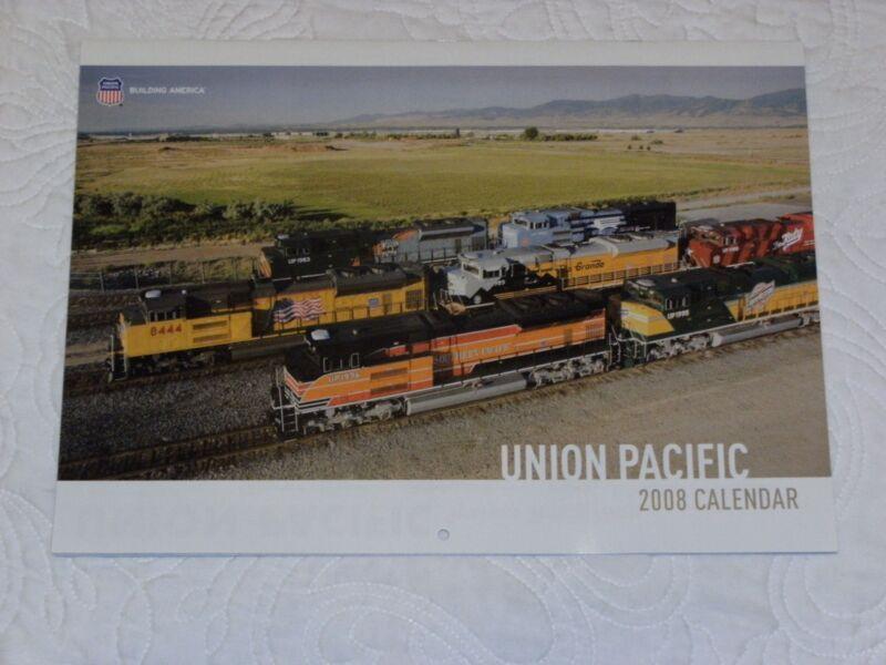 2008 Union Pacific Calendar