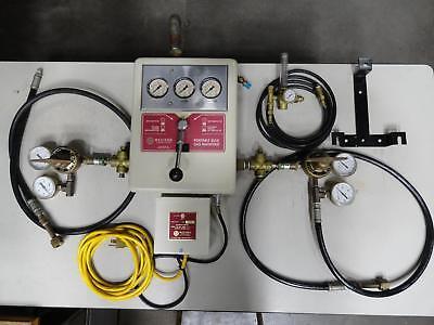 Western Innovator Lchp-3-2 Gas Manifold Control Argon W 2 Cylinders Welding