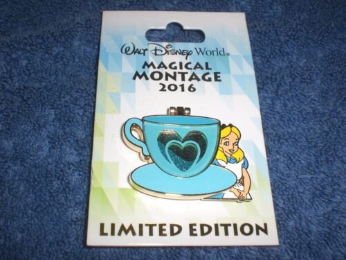Disney  WDW 2016 MAGICAL MONTAGE  ALICE IN WONDERLAND CHESHIRE CAT  LE Pin
