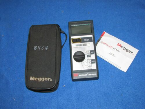 Megger AVO BM400/2 Series Analog/Digital Insulation & Continuity Tester NO LEADS