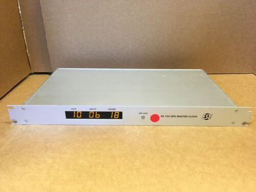 ESE ES-102 GPS Based Time Code Generator / Master Clock