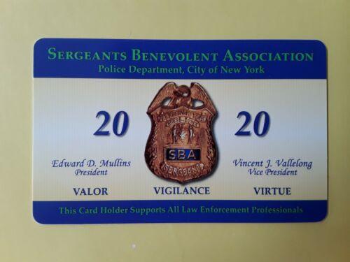"""1 AUTHENTIC COLLECTIBLE  NEW 2020  SBA  CARD """" NOT  CEA  LBA DEA PBA CARD"""