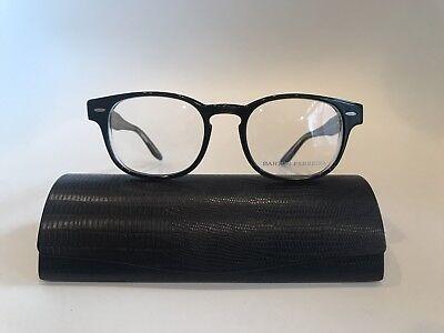Barton Perreira Eyeglasses Dempsey Bruna Crystal 49-20-145 Made In Japan