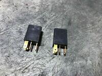 Lot of 2 Black OEM NAIS Honda Multi-purpose Relay ACM32221 //// CM1aF-R-12V
