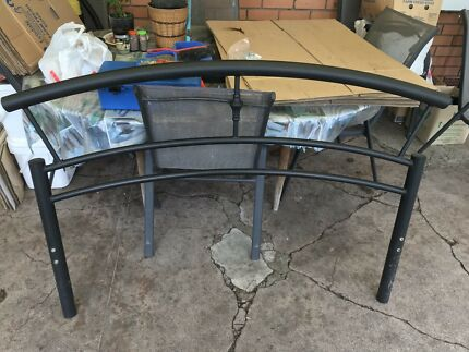 """Metal Hollow Tube """"Double Bed"""" Frame Bed.  Cranbourne Casey Area Preview"""